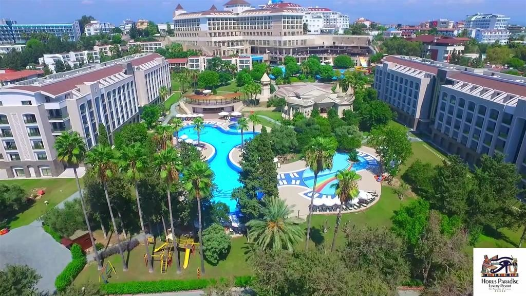 Отель Horus Paradise Luxury Resort Club